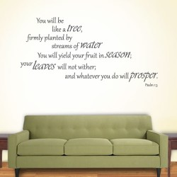 You Will Be A Tree Wall Decal