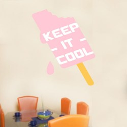 Keep It Cool Wall Decal