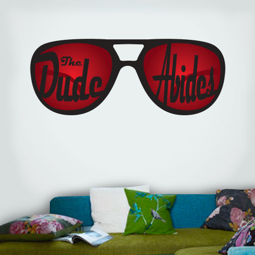 View Product The Dude Abides Wall Decal