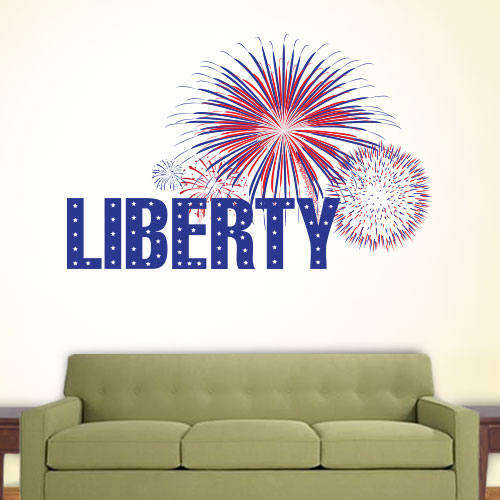 View Product Liberty Wall Decal