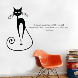 A Man Who Carries Wall Decal