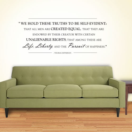 View Product Life Liberty Pursuit Wall Decal