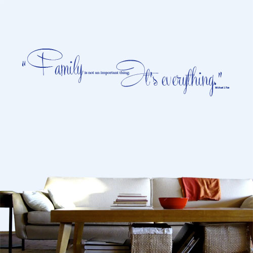 View Product Family Is Not Wall Decal