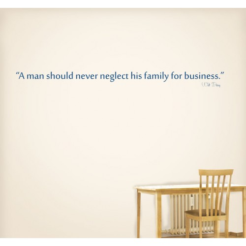 View Product A Man Should Wall Decal