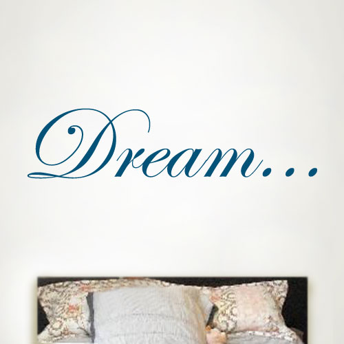 View Product Dream Wall Decal