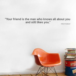 Your Friend Wall Decal