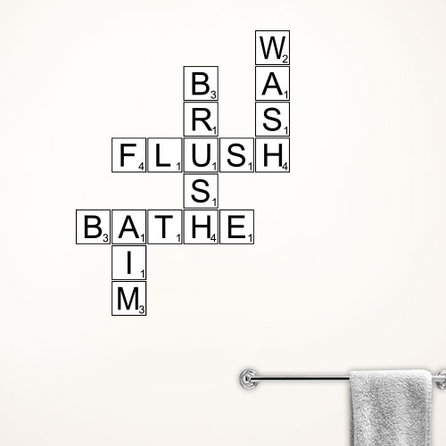 View Product Bath Time Tiles Wall Decal