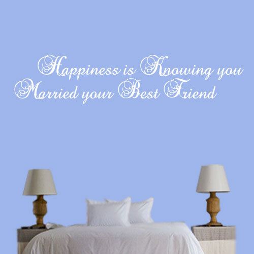 View Product Happiness Is Knowing Wall Decal