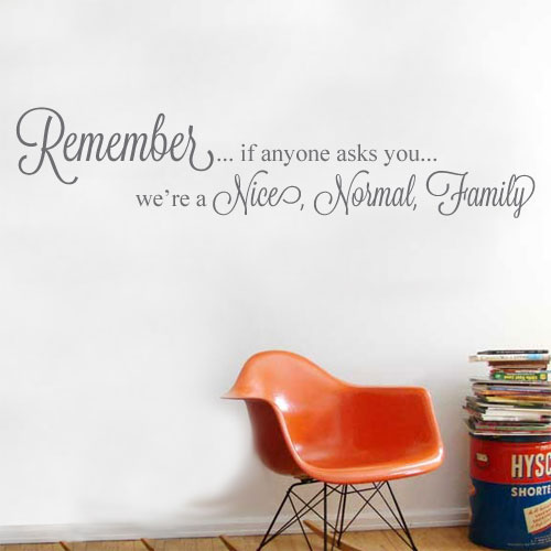 View Product Remember If Wall Decal