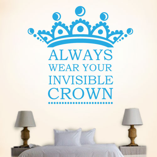 View Product Always Wear Your Invisible Wall Decal