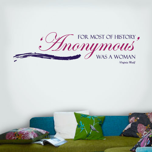 View Product Anonymous Women Wall Decal