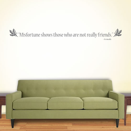 View Product Misfortune Shows Wall Decal