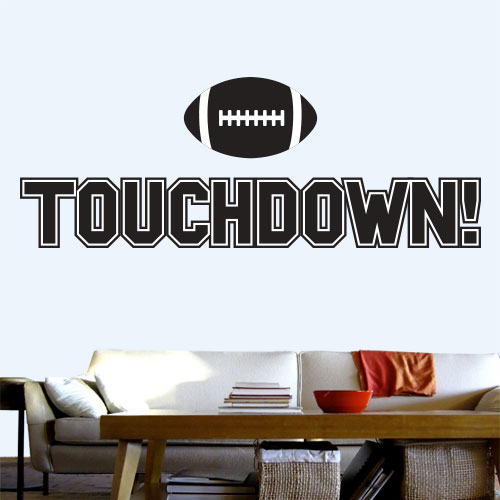 View Product Touchdown Wall Decal