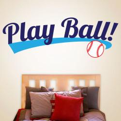 Play Ball Wall Decal