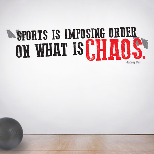 View Product Sports Chaos Wall Decal