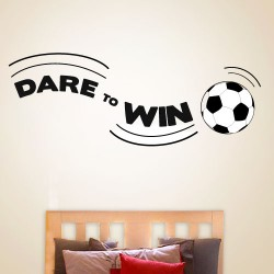 Dare To Win Wall Decal