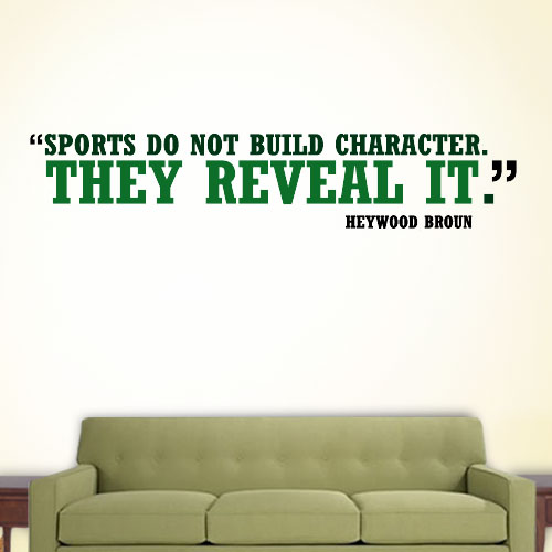 View Product Sports Character Wall Decal