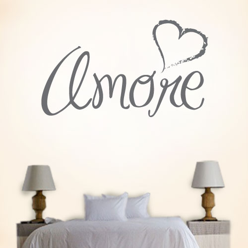 View Product Amore Wall Decal