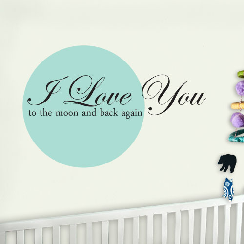 View Product I Love You Wall Decal