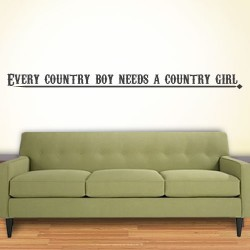 Every Country Boy Wall Decal