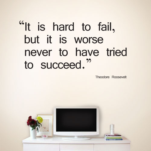 View Product It Is Hard Wall Decal