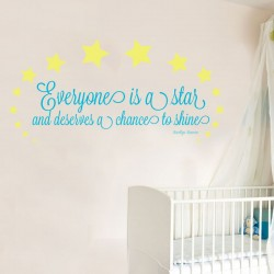 Everyone Is A Wall Decal