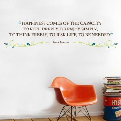 Happiness Consumed Wall Decal
