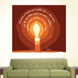 Thousands Of Candles Wall Decal