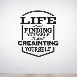 Create Yourself Wall Decal