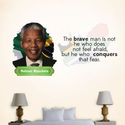 The Brave Man Wall Decal