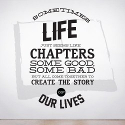 Chapters of Life Wall Decal