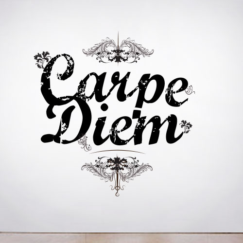 View Product Carpe Diem Wall Decal
