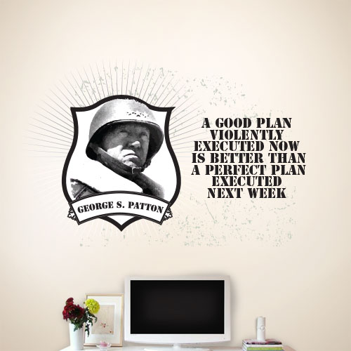 View Product A Good Plan Wall Decal