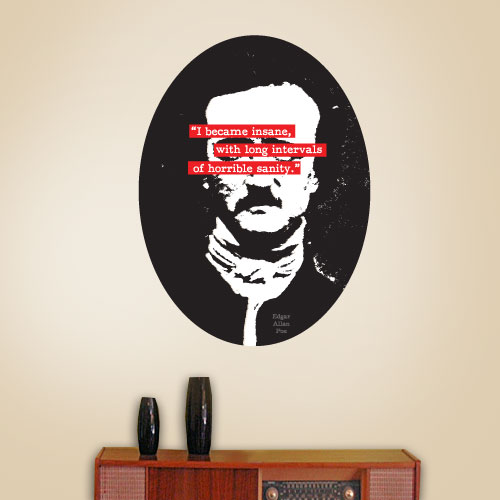View Product I Became Insane Wall Decal