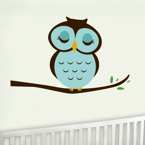 View Product Owl Wall Decal