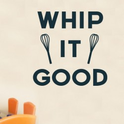 Whip It Good Wall Decal