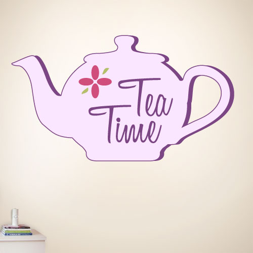 View Product Tea Time Wall Decal