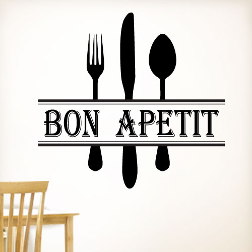 View Product Bon Apetit Wall Decal