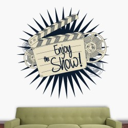 Enjoy the show Wall Decal