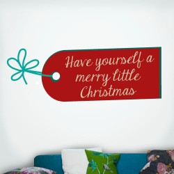Have A Merry Little Christmas Wall Decal