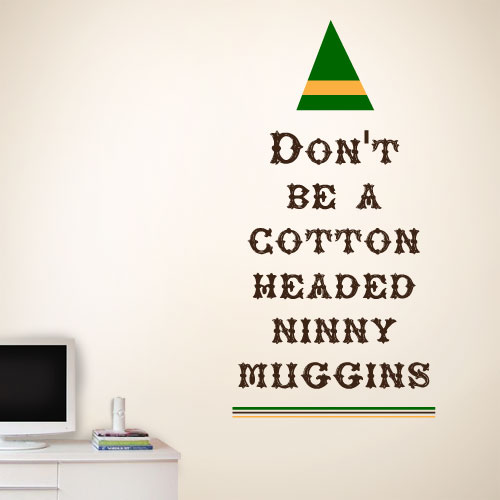 View Product Cotton Headed Ninny Wall Decal