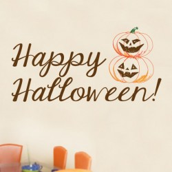 Happy Halloween Wall Decal