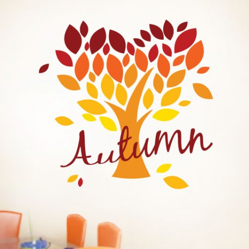View Product Autumn Tree Wall Decal