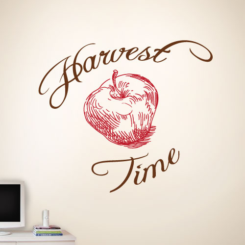 View Product Harvest Time Wall Decal