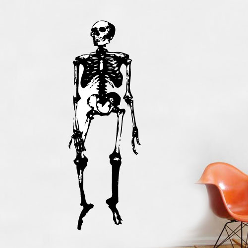 View Product Skeleton Wall Decal
