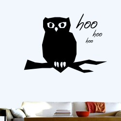 Owl Hoo Wall Decal