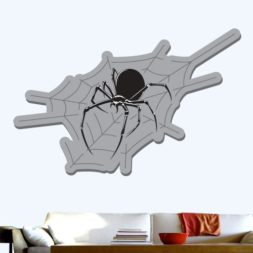 View Product Spider Web Wall Decal