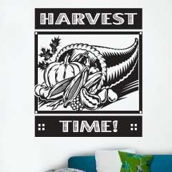 Harvest Time Wall Decal