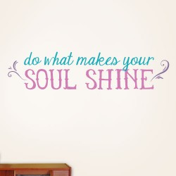 Soul Shine Wall Decal