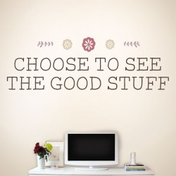 The Good Stuff Wall Decal